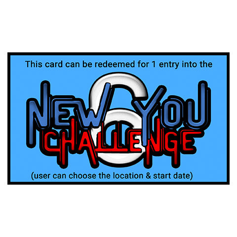 New You Challenge Gift Card