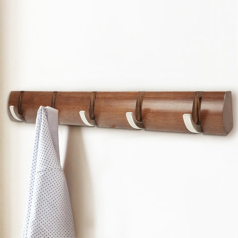 Wood Fold able Clothes Hooks Hanger