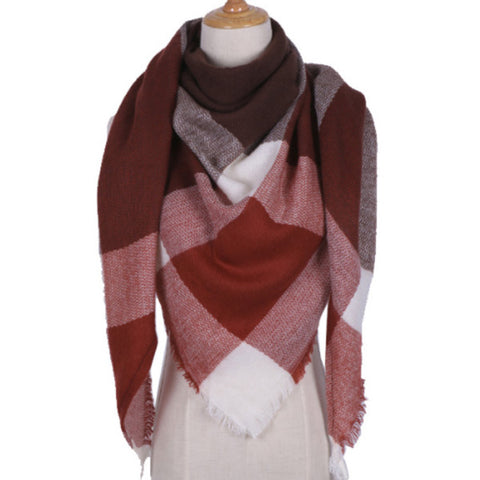 Beautiful Cashmere Blanket Scarf - TrendyGiftIdea