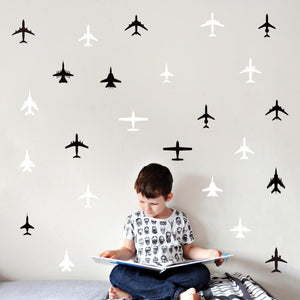 Small Airplane Wall Decals
