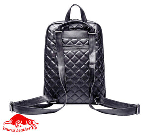 TAURUS LEATHER Quilted Bag Pack