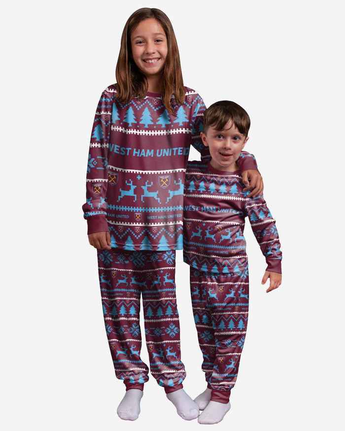 West Ham United FC Youth Family Holiday Pyjamas FOCO 4 - FOCO.com | UK & IRE