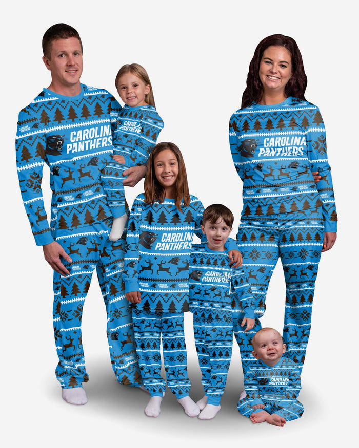 Carolina Panthers Toddler Family Holiday Pyjamas FOCO - FOCO.com | UK & IRE