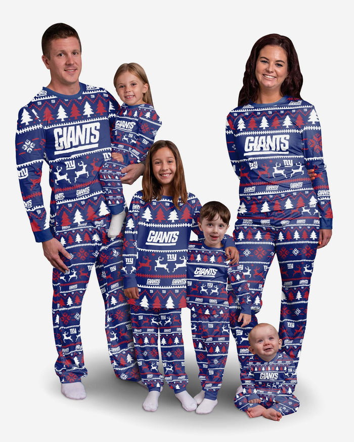 New York Giants Toddler Family Holiday Pyjamas FOCO - FOCO.com | UK & IRE