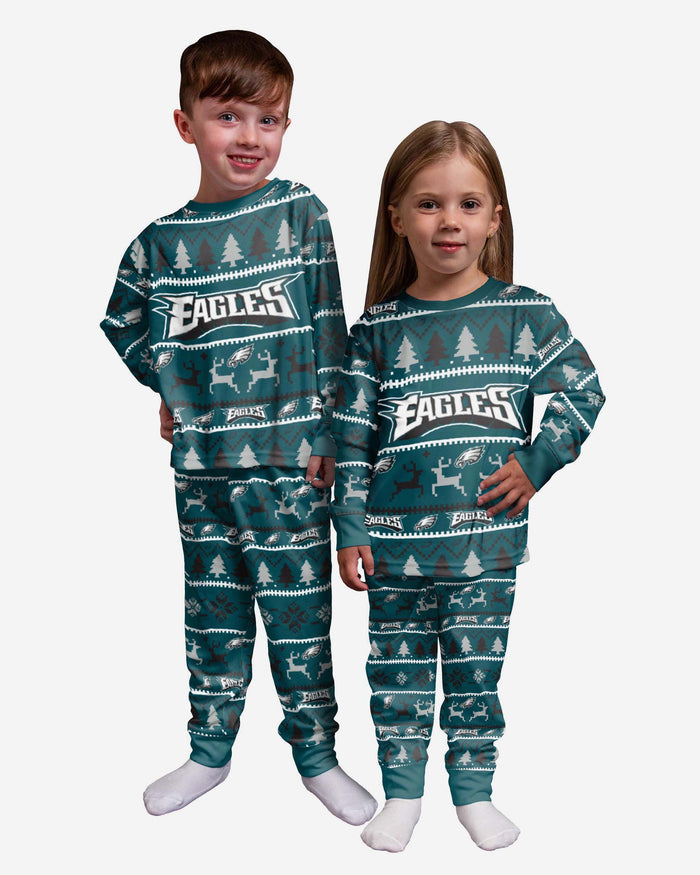 Philadelphia Eagles Toddler Family Holiday Pyjamas FOCO 2Y - FOCO.com | UK & IRE
