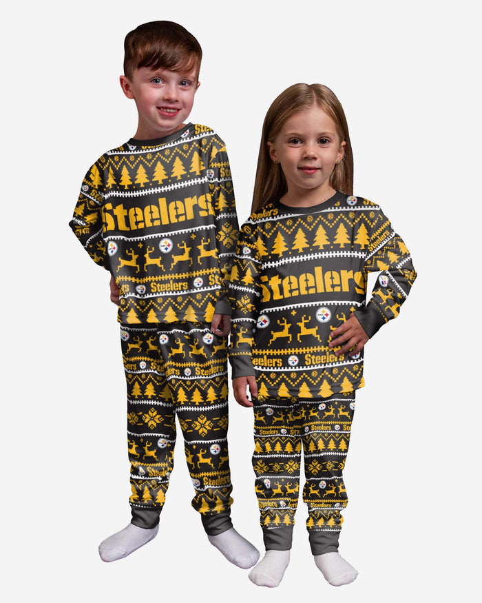 Pittsburgh Steelers Toddler Family Holiday Pyjamas FOCO 2Y - FOCO.com | UK & IRE