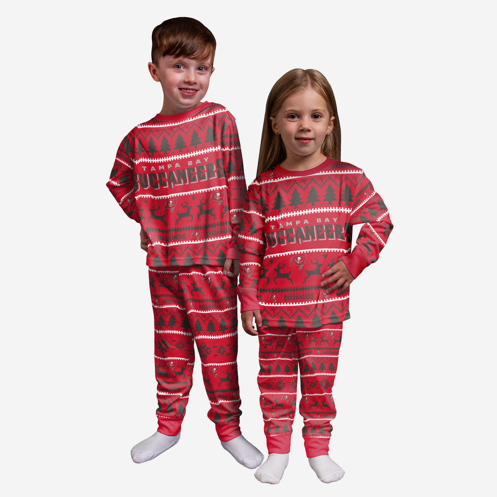 Tampa Bay Buccaneers Toddler Family Holiday Pyjamas FOCO 2Y - FOCO.com | UK & IRE