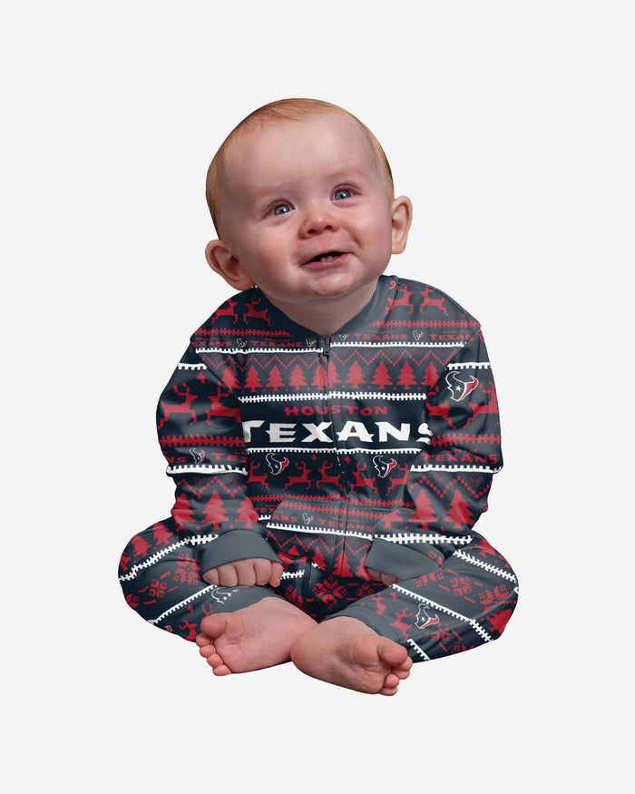 Houston Texans Infant Family Holiday Pyjamas FOCO 12M - FOCO.com | UK & IRE