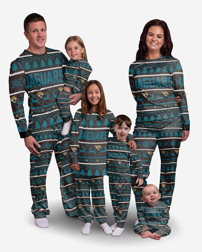 Jacksonville Jaguars Infant Family Holiday Pyjamas FOCO - FOCO.com | UK & IRE