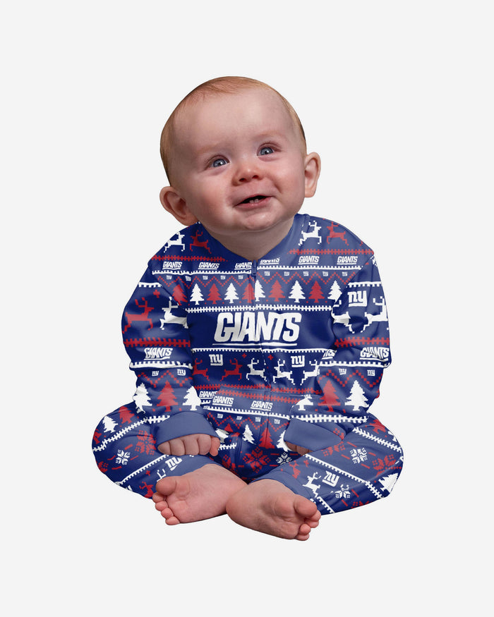New York Giants Infant Family Holiday Pyjamas FOCO 12M - FOCO.com | UK & IRE