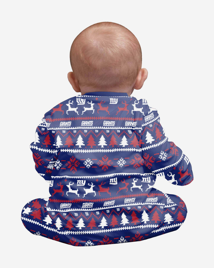 New York Giants Infant Family Holiday Pyjamas FOCO - FOCO.com | UK & IRE