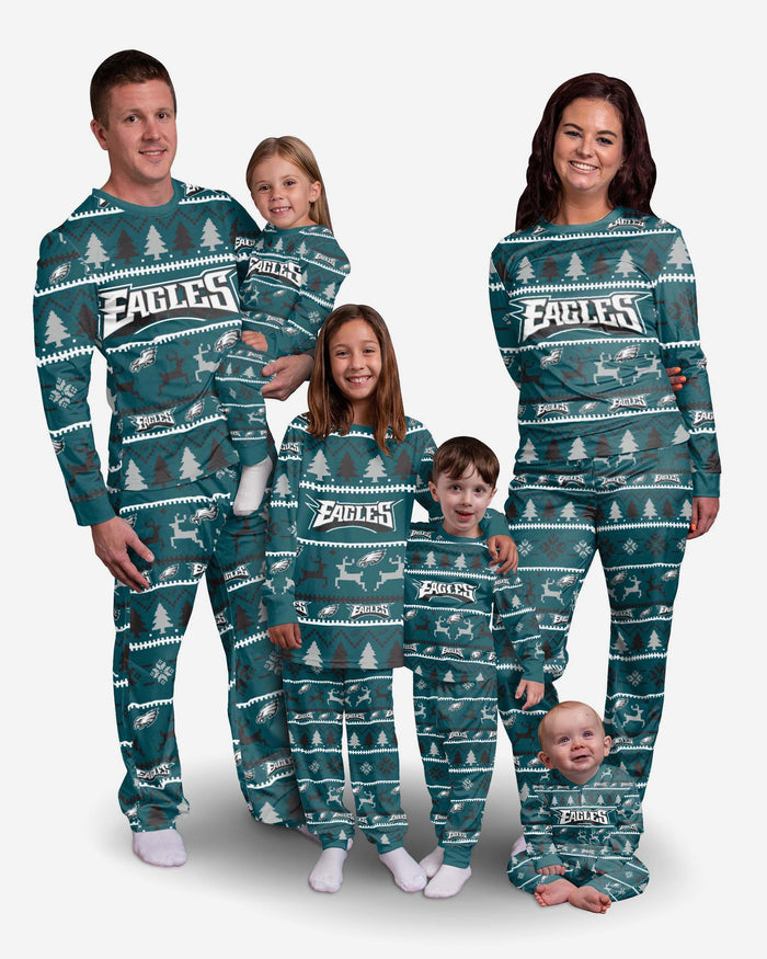 Philadelphia Eagles Infant Family Holiday Pyjamas FOCO - FOCO.com | UK & IRE