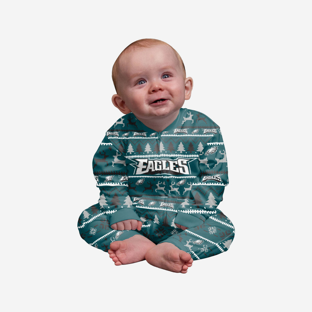 Philadelphia Eagles Infant Family Holiday Pyjamas FOCO 12M - FOCO.com | UK & IRE