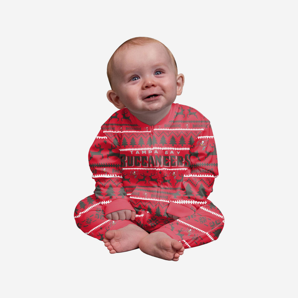 Tampa Bay Buccaneers Infant Family Holiday Pyjamas FOCO 12M - FOCO.com | UK & IRE