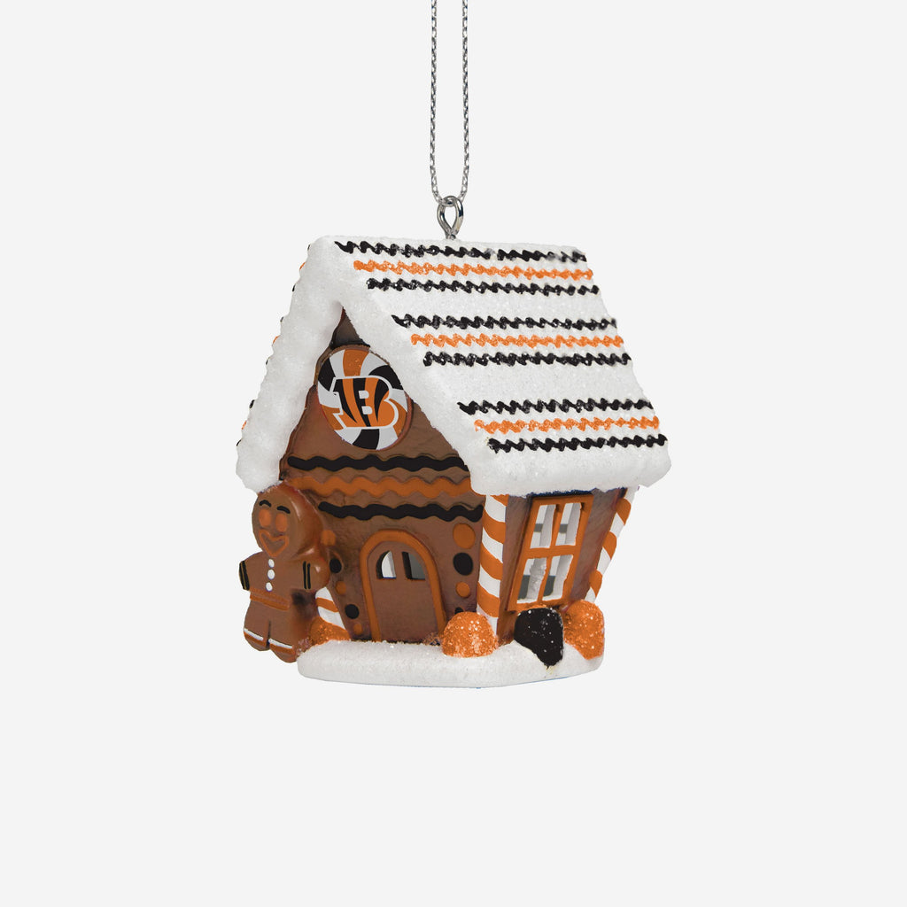 Cincinnati Bengals Gingerbread House Ornament FOCO - FOCO.com | UK & IRE