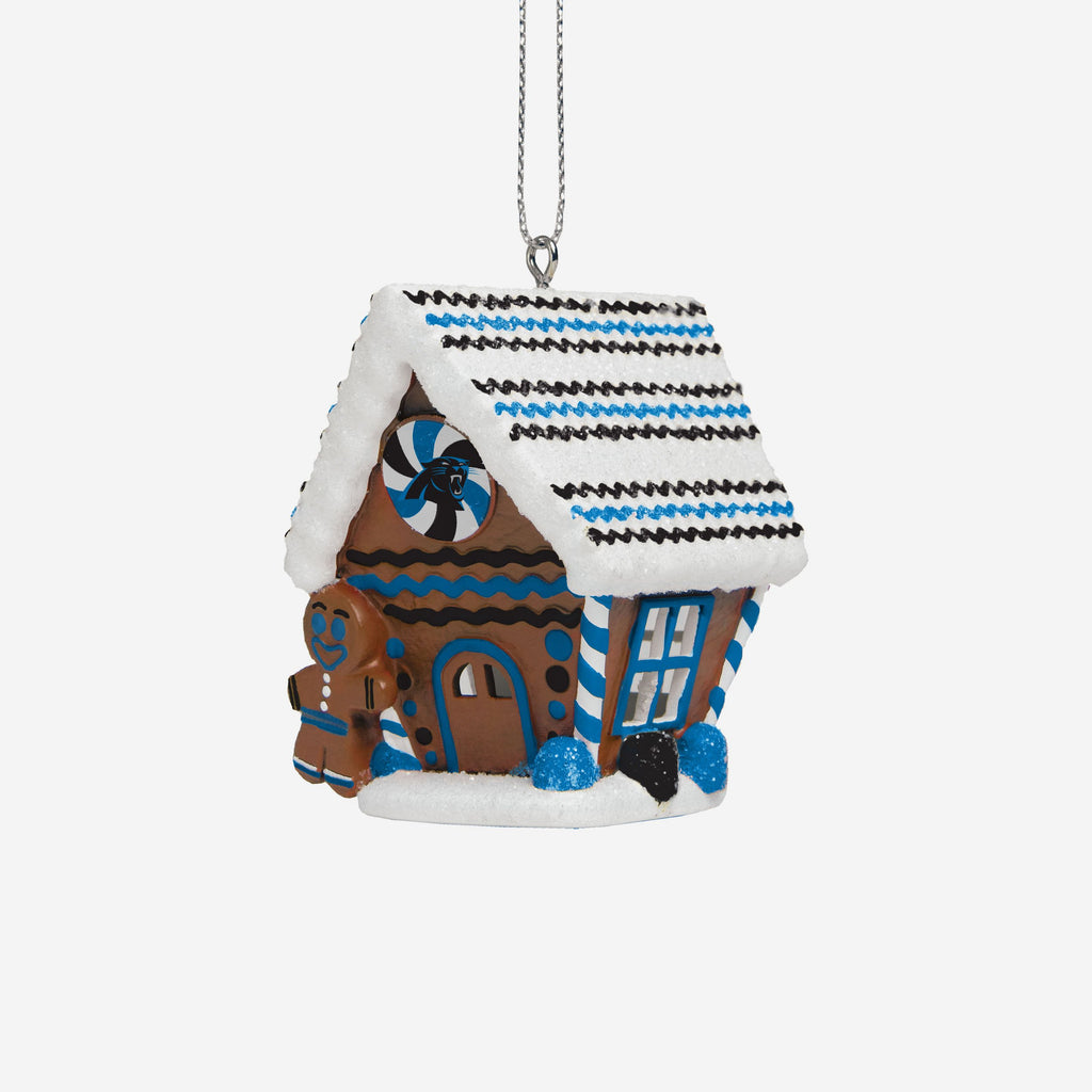 Carolina Panthers Gingerbread House Ornament FOCO - FOCO.com | UK & IRE