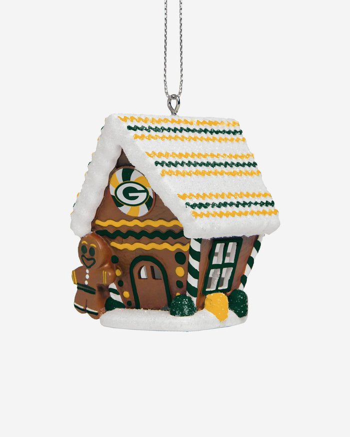 Green Bay Packers Gingerbread House Ornament FOCO - FOCO.com | UK & IRE