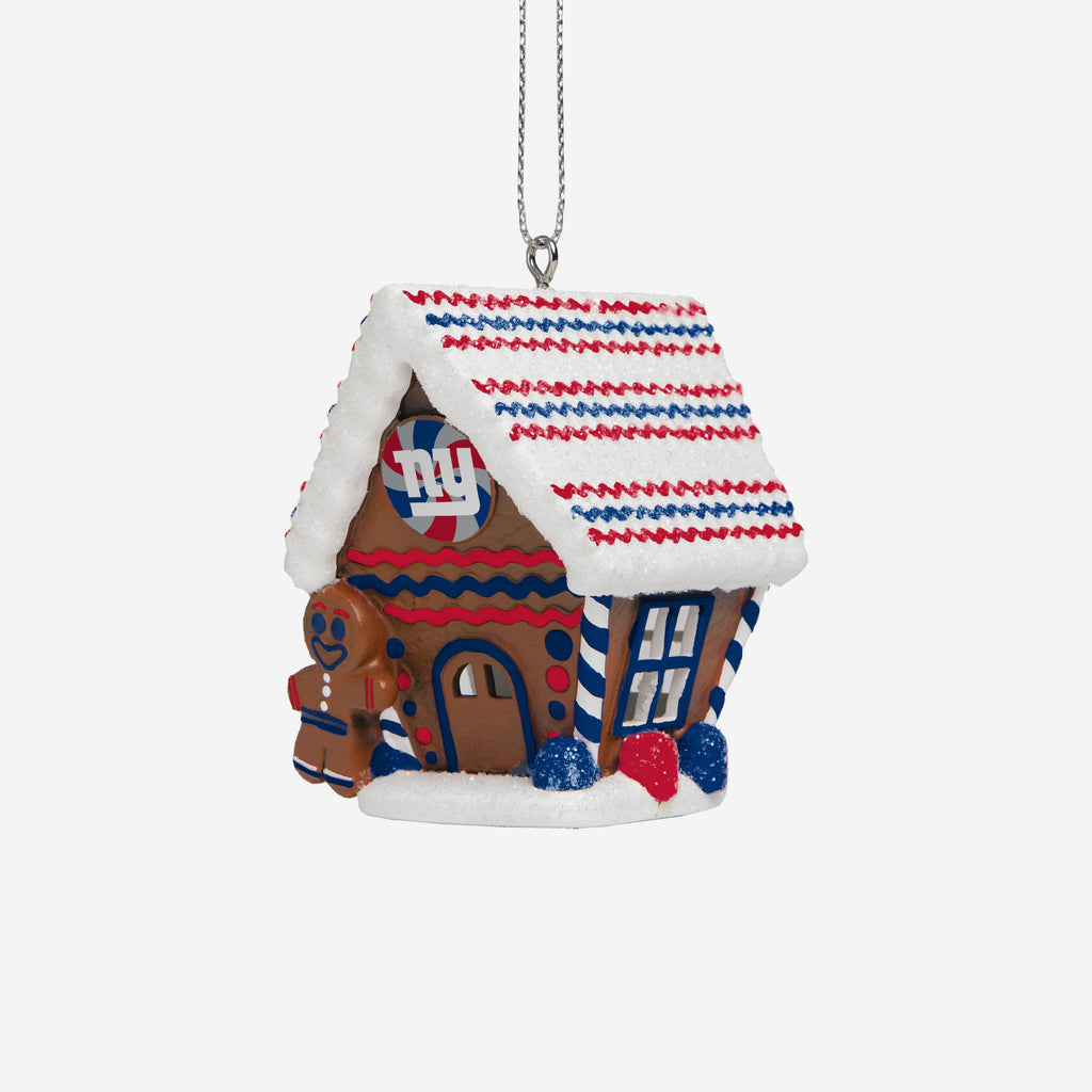 New York Giants Gingerbread House Ornament FOCO - FOCO.com | UK & IRE