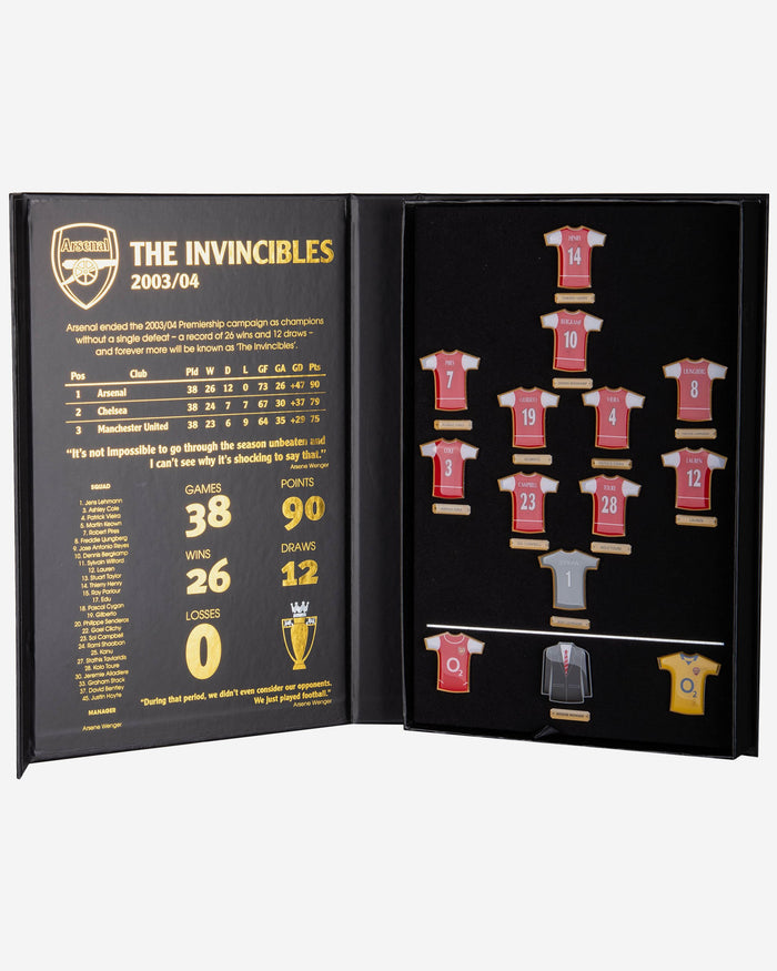 Arsenal FC Invincible Badge Set FOCO - FOCO.com | UK & IRE