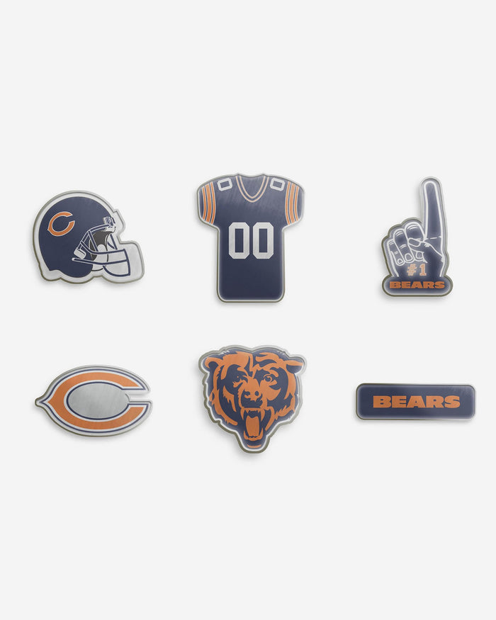 Chicago Bears 6 Piece Pin Badge Set FOCO - FOCO.com | UK & IRE