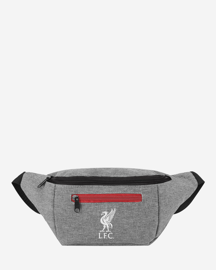 Liverpool FC Grey Bum Bag FOCO - FOCO.com | UK & IRE