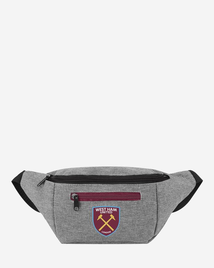 West Ham United FC Grey Bum Bag FOCO - FOCO.com | UK & IRE
