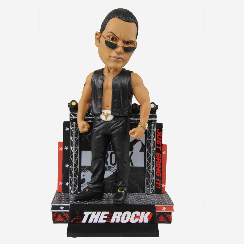 WWE The Rock Attitude Bobblehead FOCO - FOCO.com | UK & IRE