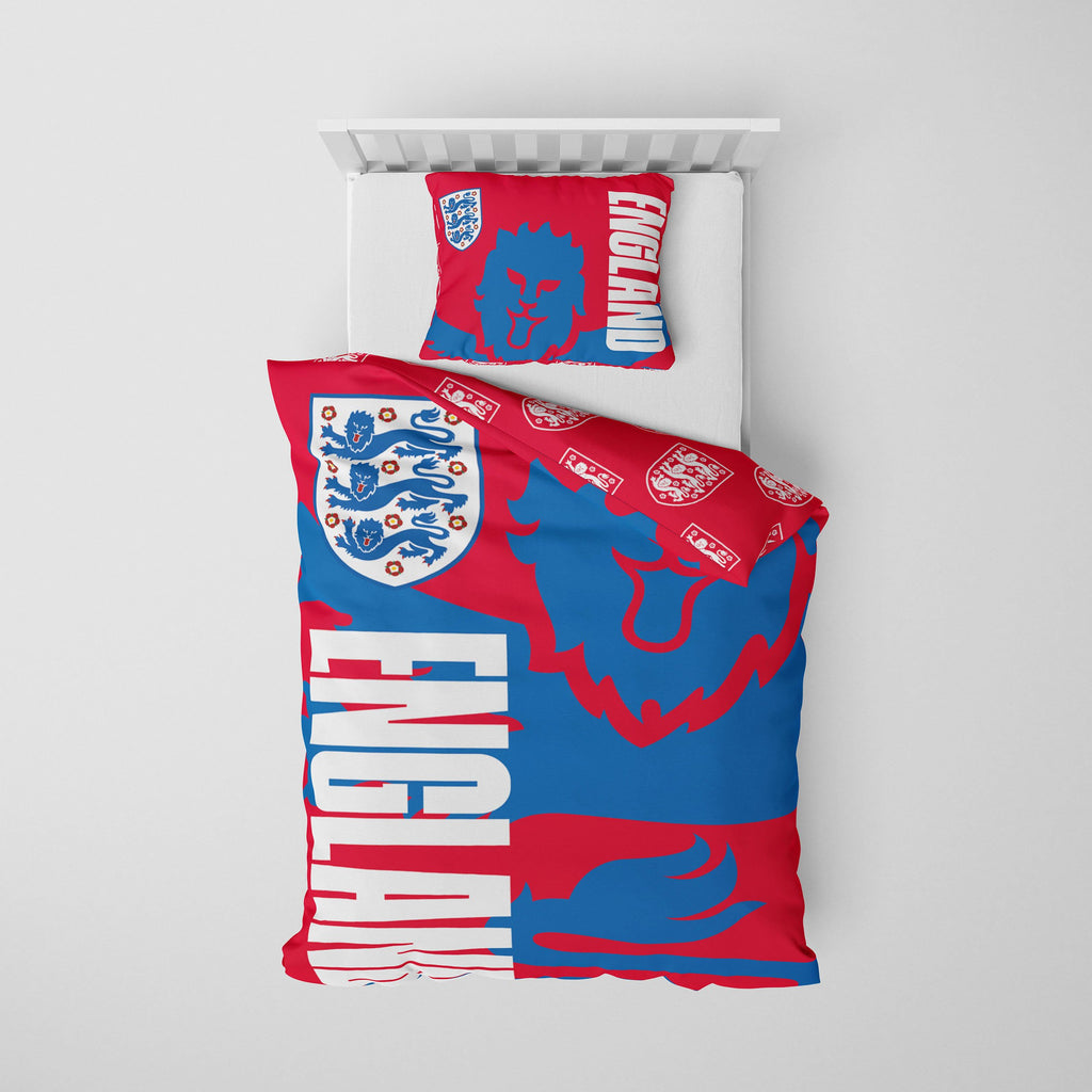 England Slogan Single Duvet FOCO - FOCO.com | UK & IRE