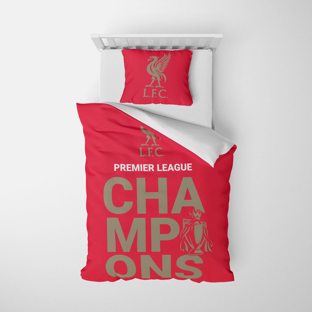 Liverpool FC 2019-20 Champions Single Duvet FOCO - FOCO.com | UK & IRE
