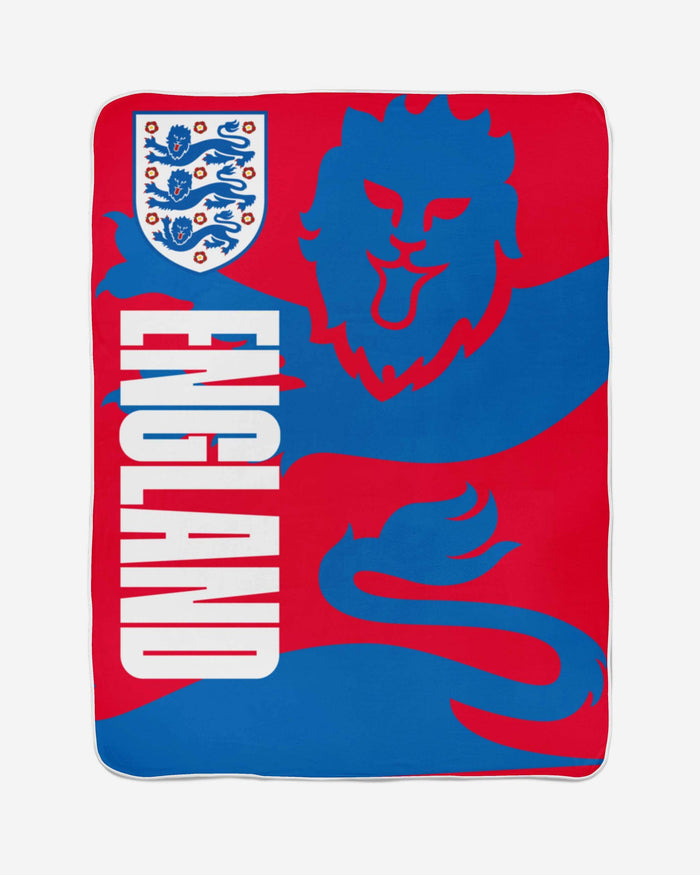 England Lion Fleece Blanket FOCO - FOCO.com | UK & IRE