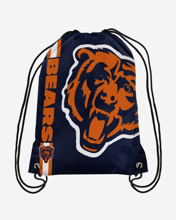 Chicago Bears Big Logo Drawstring Backpack FOCO - FOCO.com | UK & IRE