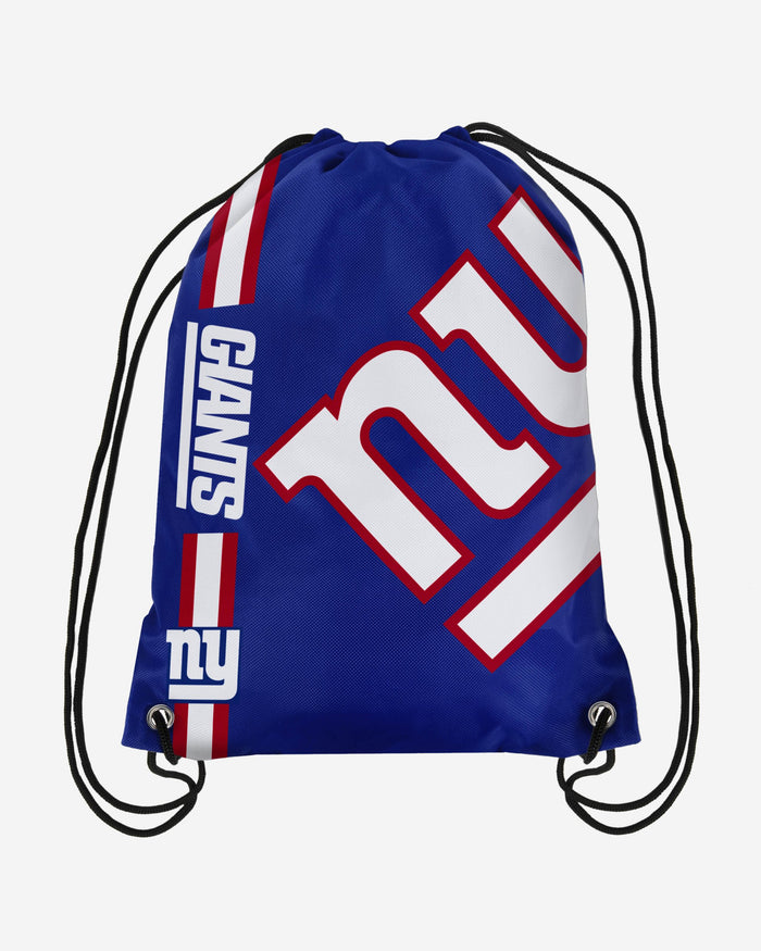New York Giants Big Logo Drawstring Backpack FOCO - FOCO.com | UK & IRE