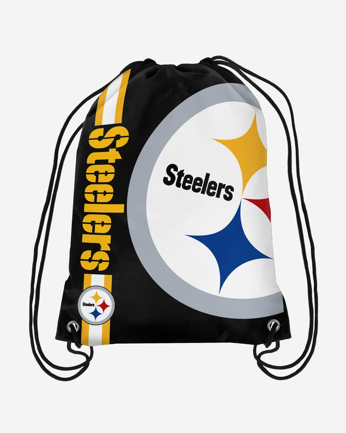 Pittsburgh Steelers Big Logo Drawstring Backpack FOCO - FOCO.com | UK & IRE
