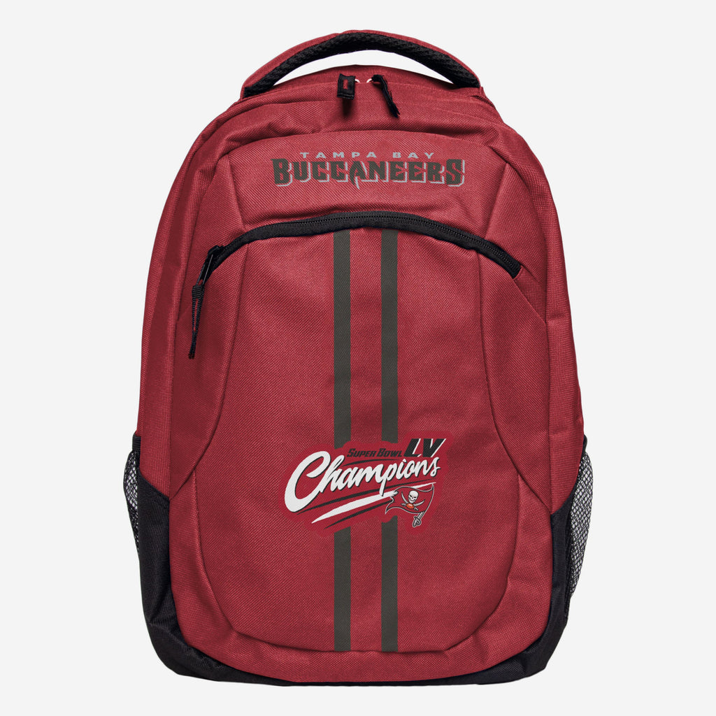 Tampa Bay Buccaneers Super Bowl LV Champions Action Backpack FOCO - FOCO.com | UK & IRE
