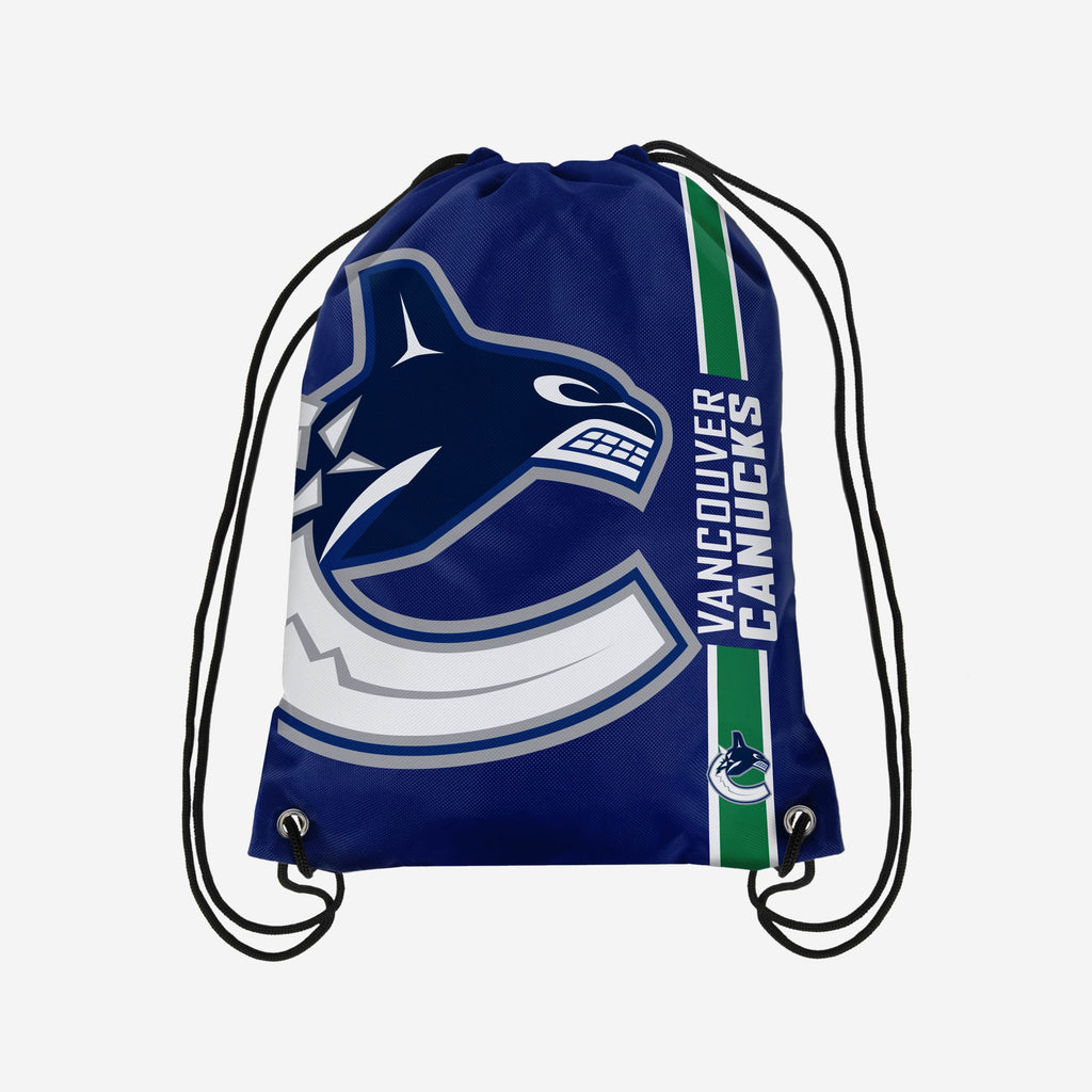 Vancouver Canucks Big Logo Drawstring Backpack FOCO - FOCO.com | UK & IRE