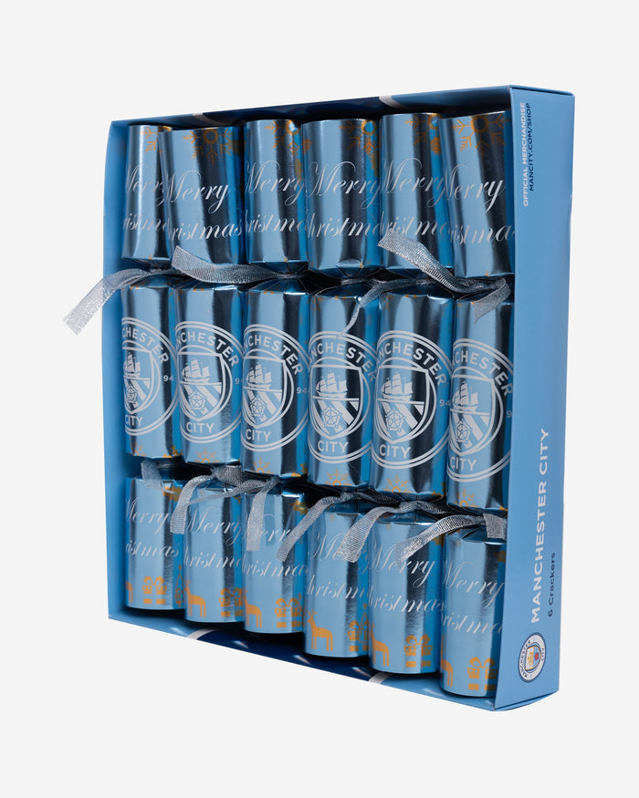 Manchester City FC 6 Pack Christmas Crackers FOCO - FOCO.com | UK & IRE