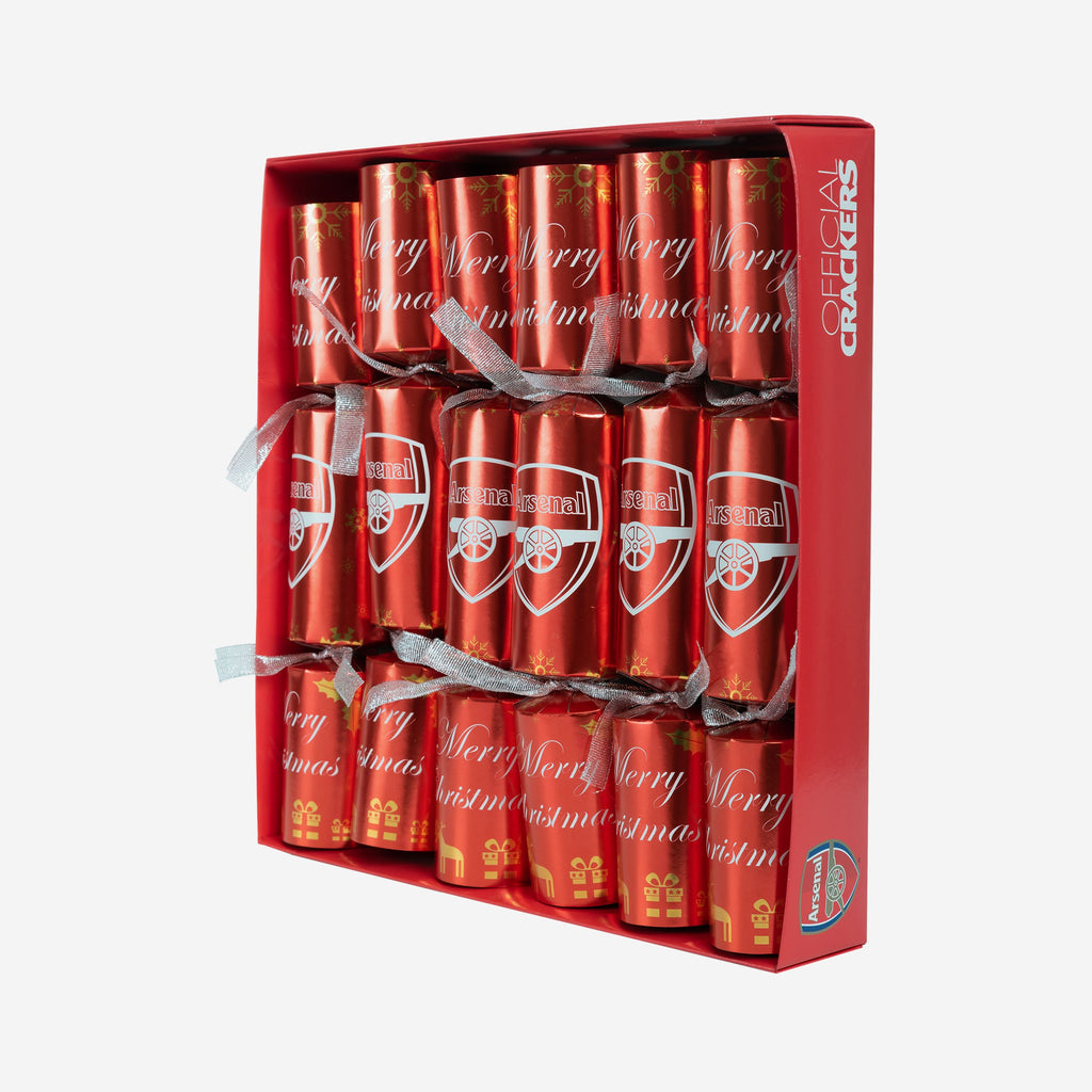 Arsenal FC 6 Pack Christmas Crackers FOCO - FOCO.com | UK & IRE