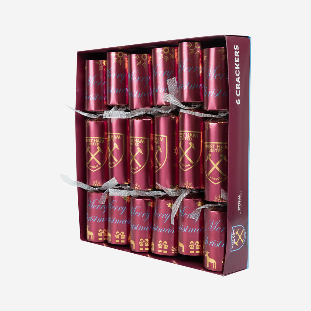 West Ham United FC 6 Pack Christmas Crackers FOCO - FOCO.com | UK & IRE