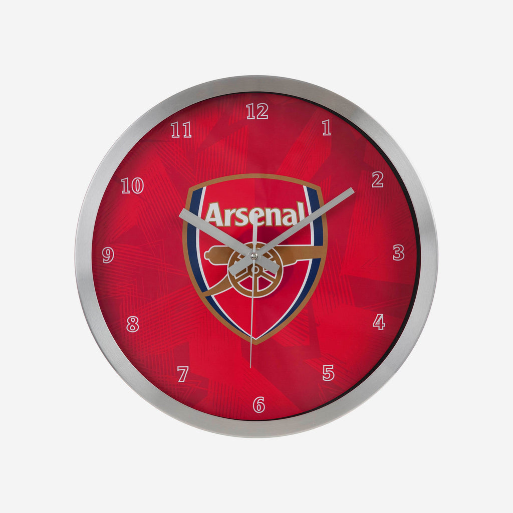 Arsenal FC Metal Wall Clock FOCO - FOCO.com | UK & IRE