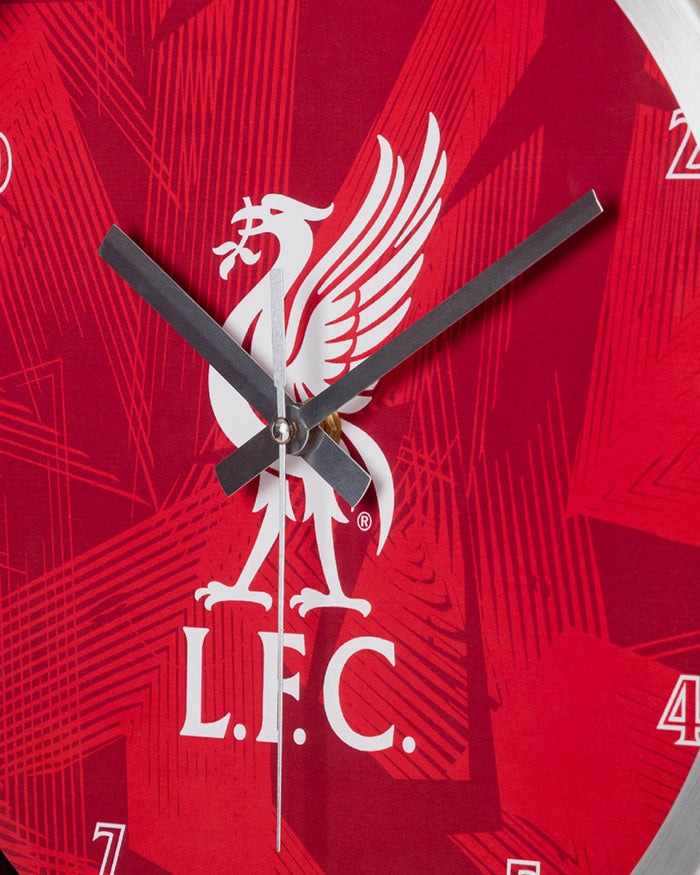 Liverpool FC Metal Wall Clock FOCO - FOCO.com | UK & IRE