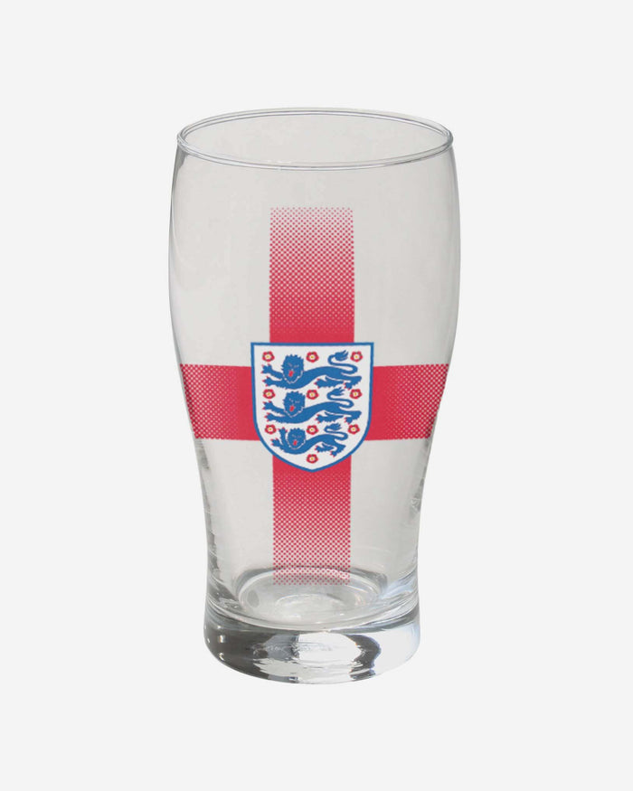 England Tulip Pint Glass FOCO - FOCO.com | UK & IRE