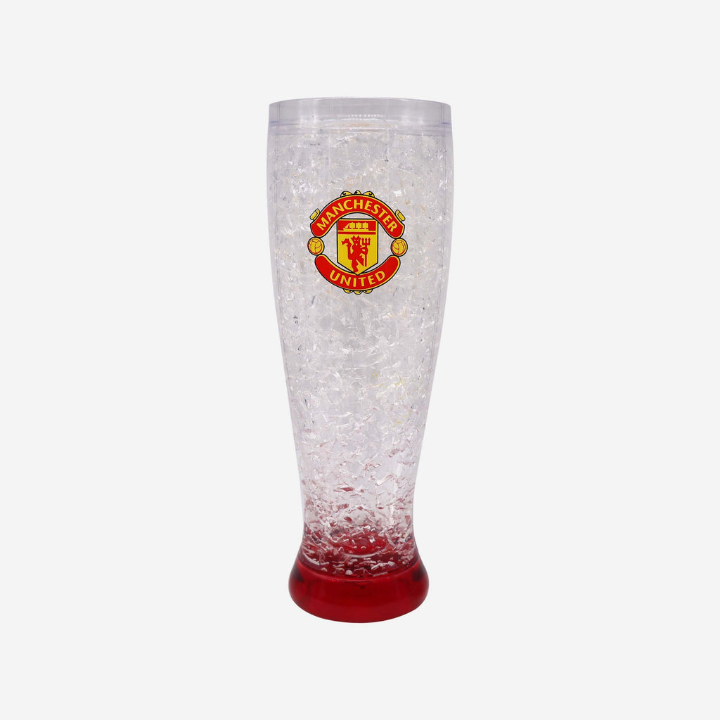 Manchester United FC Crest Freezer Glass FOCO - FOCO.com | UK & IRE