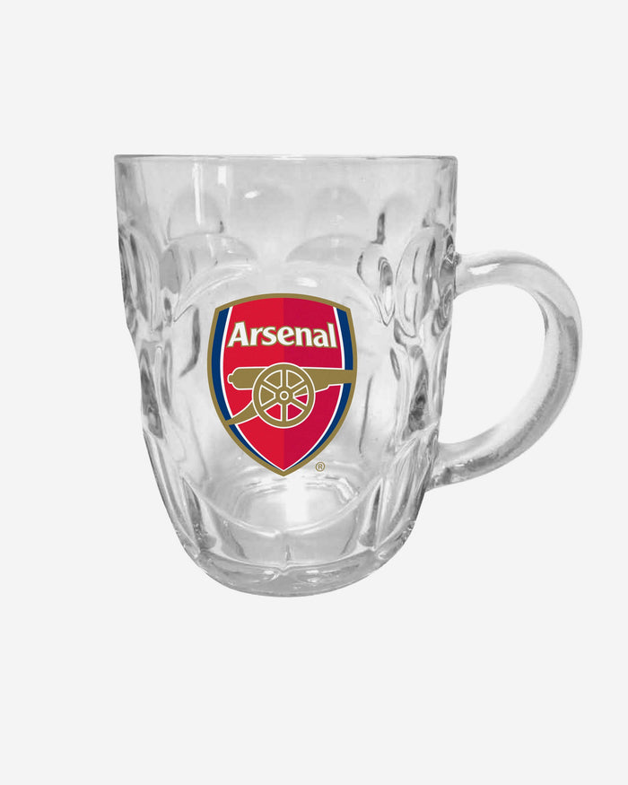 Arsenal FC Dimple Tankard Pint Glass FOCO - FOCO.com | UK & IRE