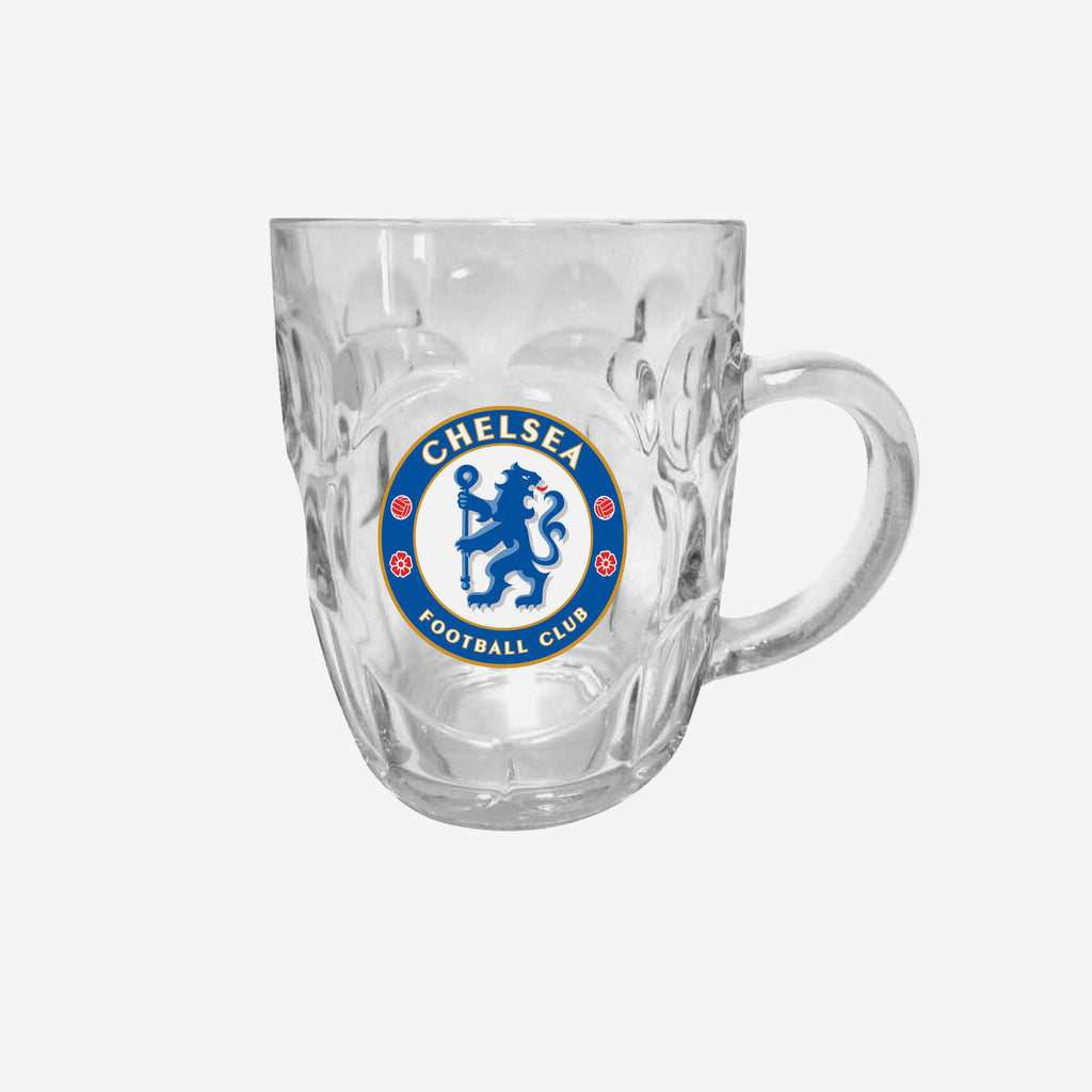 Chelsea FC Dimple Tankard Pint Glass FOCO - FOCO.com | UK & IRE
