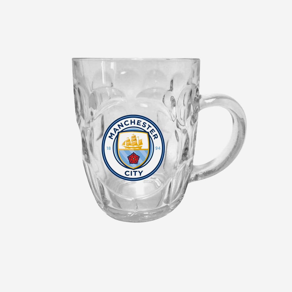 Manchester City FC Dimple Tankard Pint Glass FOCO - FOCO.com | UK & IRE