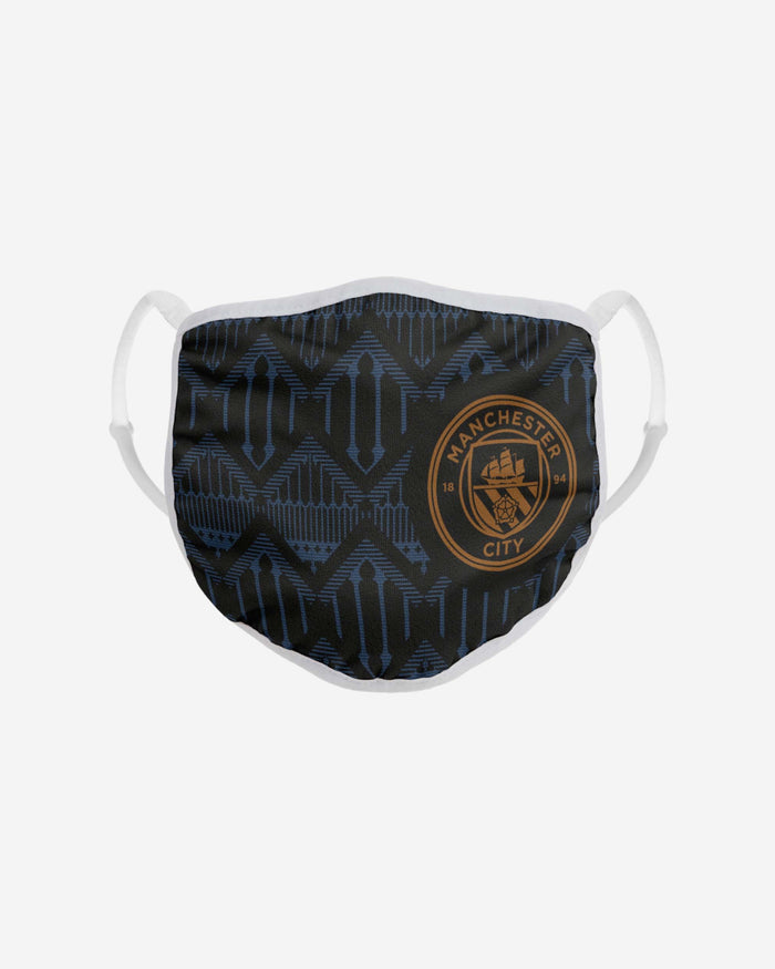 Manchester City FC Adjustable Away Kit Face Cover FOCO - FOCO.com | UK & IRE