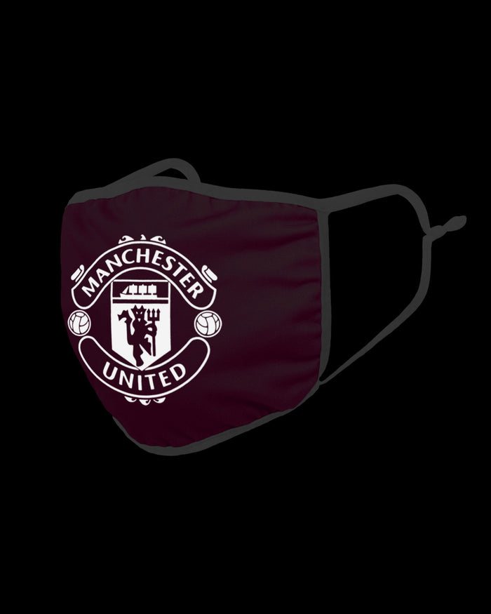 Manchester United FC Pink Neon Reflective Face Cover FOCO - FOCO.com | UK & IRE