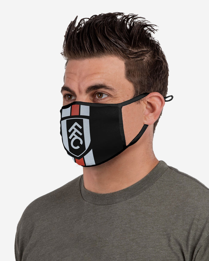 Fulham FC Stripe Logo Reflective Face Cover FOCO - FOCO.com | UK & IRE