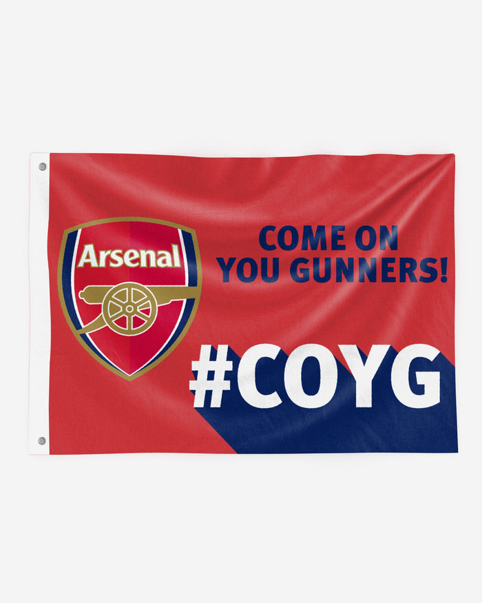 Arsenal FC Motivational Slogan Flag FOCO - FOCO.com | UK & IRE