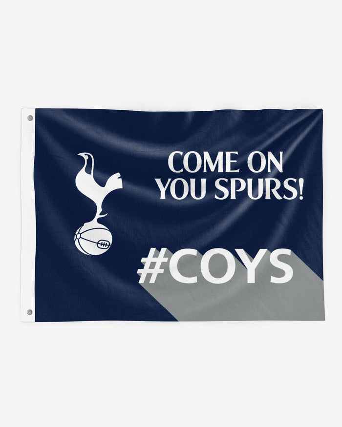 Tottenham Hotspur Motivational Slogan Flag FOCO - FOCO.com | UK & IRE